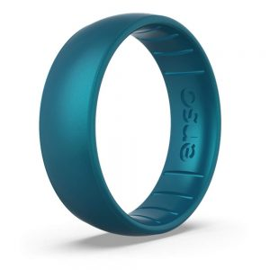 Enso Rings Classic Birthstone Silicone Ring Made in The USA Lifetime Quality Guarantee Comfortable, Breathable, and Safe
