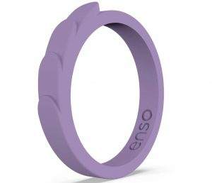 Enso Rings Feather Stackable Silicone Ring | Lifetime Quality Guarantee | The Premium Fashion Forward Silicone Ring | Comfortable, Breathable, and Safe