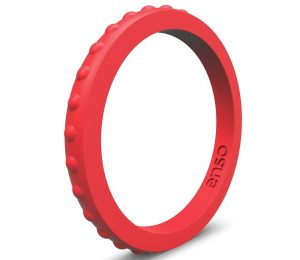 Enso Rings Studded Stackable Silicone Ring | Premium Fashion Forward Silicone Ring | Hypoallergenic Medical Grade Silicone | Lifetime Quality Guarantee | Commit to What You Love