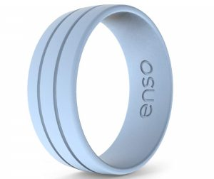 Enso Rings Women's & Men's Ultralite Silicone Ring, The Premium Fashion Forward Silicone Ring, Hypoallergenic Medical Grade Silicone, Lifetime Quality Guarantee