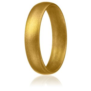 ROQ Silicone Wedding Ring for Women, Thin, Affordable 6mm