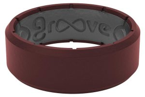 Groove Life - Silicone Ring for Men and for Women Wedding Edge Original