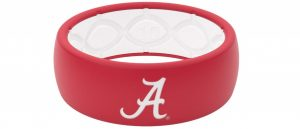 Groove Plus Life Ring Silicone Ring Collegiate Series Alabama