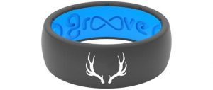 Groove Silicone Ring- Antler Embossed Ring