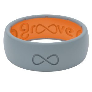 Groove Silicone Ring- Kryptek Deep Stone Grey Ring