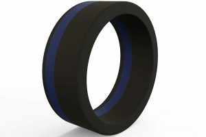 QALO Men's Pinstripe Ring
