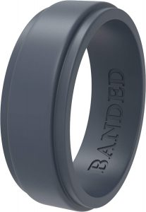 Banded Glory Silicone Rings